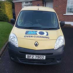 MrO mobile oven cleaning