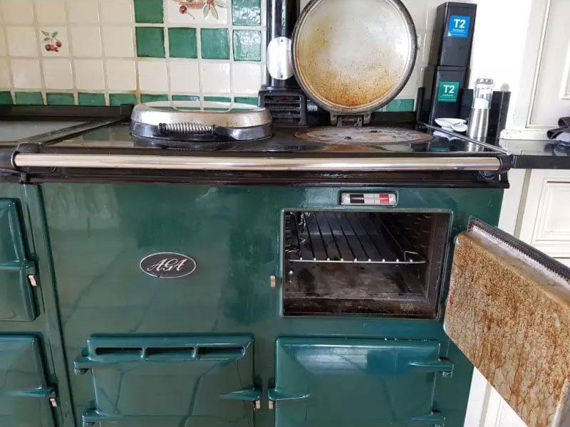 AGA Oven Before