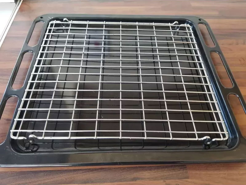 Oven Tray After